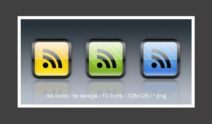 RSS Icons - Free RSS Feed Icons