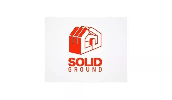 Solid Ground Homes - Inspiration Logo design