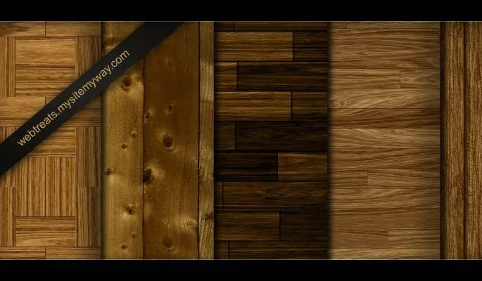 Tileable Light Wood Textures - Clean Wood Textures for Designers