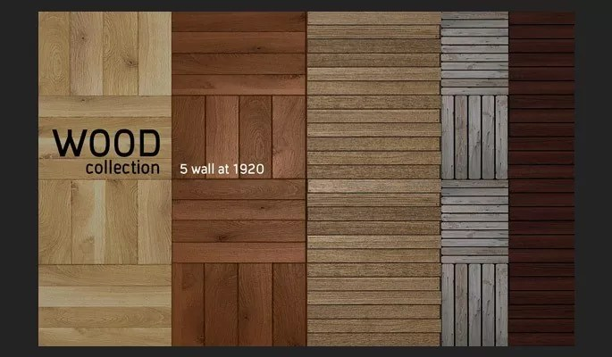 wood collection - Clean Wood Textures for Designers