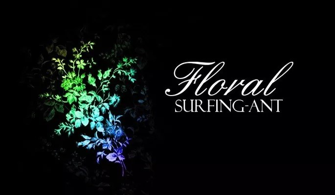 Floral Brushes surfing ant - Free floral brushes for photoshop