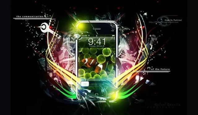 Iphone Advertising Poster - Best of Photoshop Tutorials