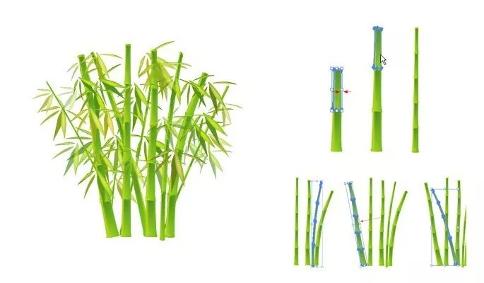 Chinese Bamboo - Another Collection of useful illustrator tutorials