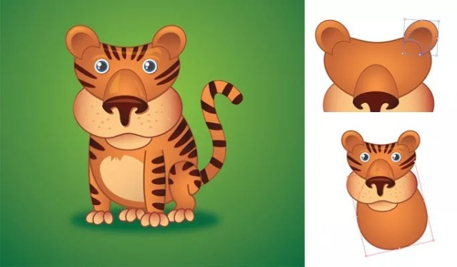 Cute Little Tiger - Another Collection of useful illustrator tutorials