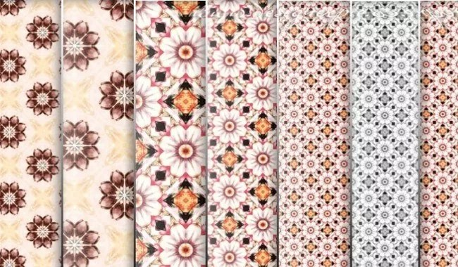 Flowers Patters - Collection of free Photoshop patterns