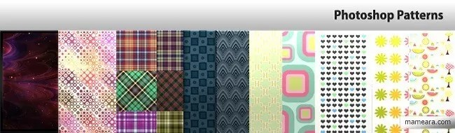PS Patterns - Collection of free Photoshop patterns