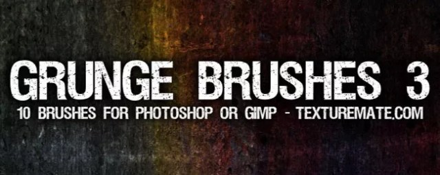 Grunge Brushes05 - 450+ Free Grunge Photoshop Brushes