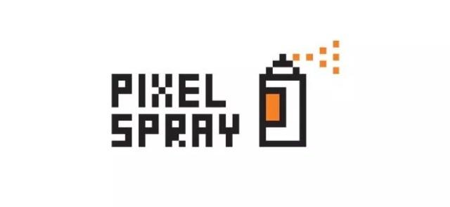Pixel Spray - Inspiration logo designs #2