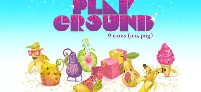 PlayGround Icon Pack - Free High-Quality Icon Sets