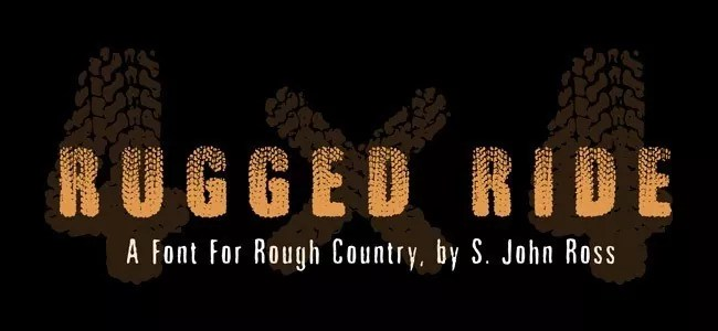 Rugged Ride - Download Free Dirty Fonts