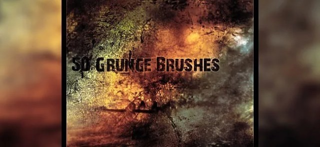 gRUNg BRUSHEs - 450+ Free Grunge Photoshop Brushes