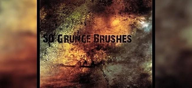 gRUNg BRUSHEs - 450+ Free Grunge Photoshop Brushes