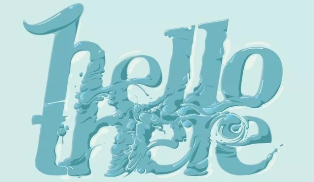 Hello There02 - 30 of Inspirational Typography Vol#03