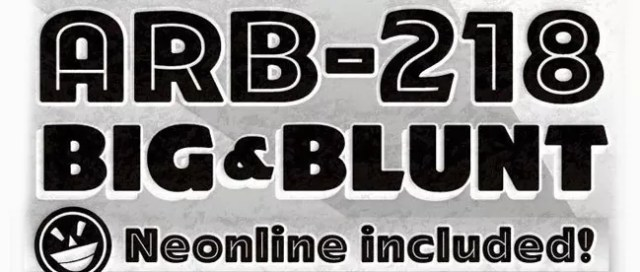 ARB 218 Big Blunt - 25+ Free Heavy and Bold Fonts