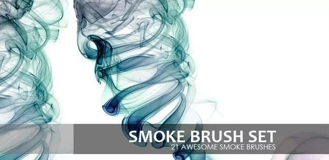 smoke brushes 09 - Free Photoshop Smoke Brushes - 180+ Awesome Brushes