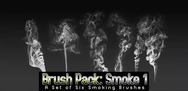 smoke brushes 12 - Free Photoshop Smoke Brushes - 180+ Awesome Brushes