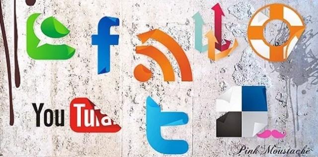 Social icons02 - 25 Set of Amazing Free Social Icons