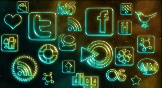 Social icons09 - 25 Set of Amazing Free Social Icons