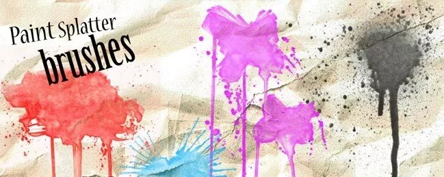 SprayPaintBrush 02 - 100+ Free Spray and Splatter Paint Photoshop Brushes