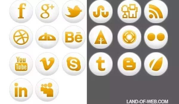Socialicons - Free Simple Social Icons