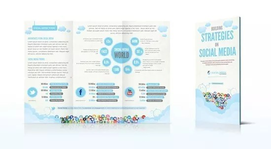 brochure template 7 - Brochure Templates: 40+ Very Affordable High Quality Designs