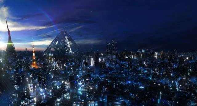 futuristic tokyo bay - Amazing high resolution wallpapers #3