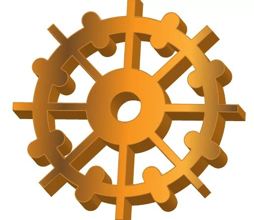 211 - Step by Step Cog or Gear Icon Using Illustrator