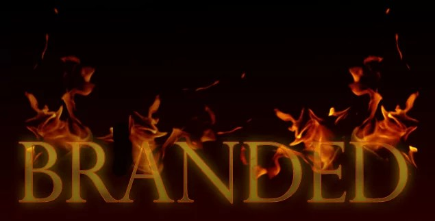 T44 16 - Red Hot Fire Brand Effect in Text in Photoshop