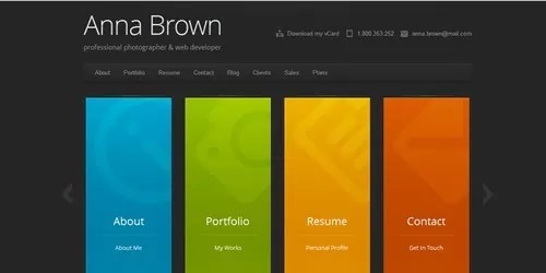 Best Wordpress Themes To Help You Create An Online Resume Mameara