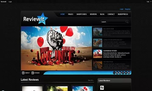 reviewit buddypress theme - 21 BuddyPress Themes to Help You Build a Brilliant Social Site