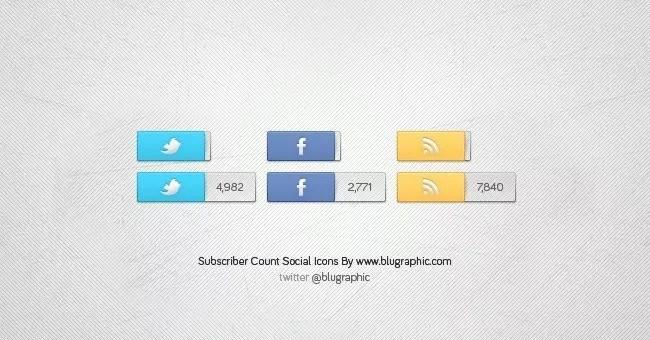 Social Icons V2 - Free Social Media Icons 18 Sets