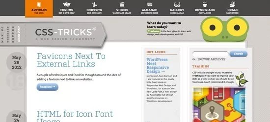 csstricks - Top 7 Things To Keep In Mind While Designing Blog Theme