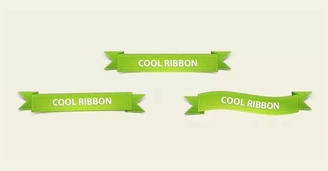 270411 Ribbons prev - Free PSD Web Elements
