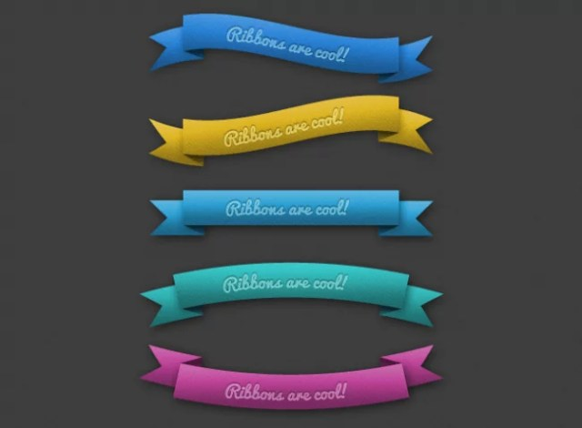 ribbon preview e1347190284970 - PSD Free Web Elements