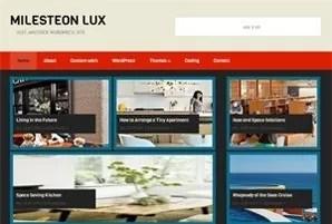 milesteonlux - Milesteon Lux Free WordPress Theme