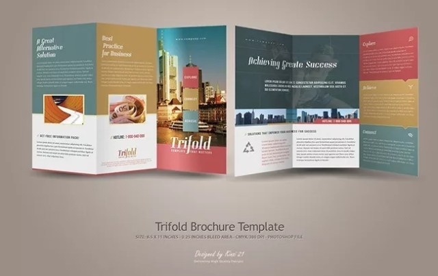 Brochure29 - 30+ Creative and Unique Examples of Brochure Design
