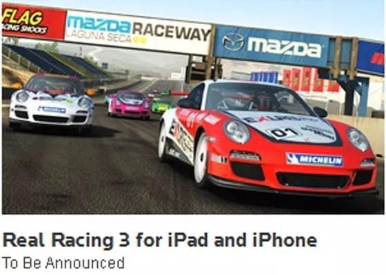 Real Racing - 25+ Best iOS Games