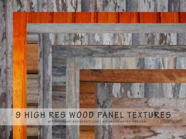 9 High Res Wood Panel Textures by aki mikadzuki - 200+ Free High Quality Grungy Dirty Wood Textures