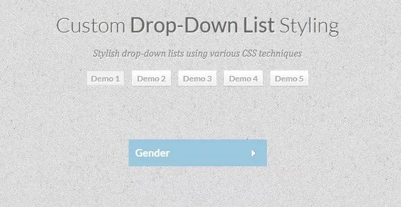 css3 dropdown - 40+ Cool and Useful CSS3 Tutorials and Techniques