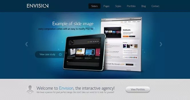 envision - Special Giveaway Offer: 3 Stunning WordPress Layouts from ThemeFuse