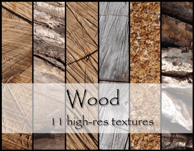 11 high-res wood textures