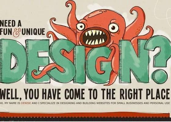 Denise Chandler - Showcase of Typography In Web Design