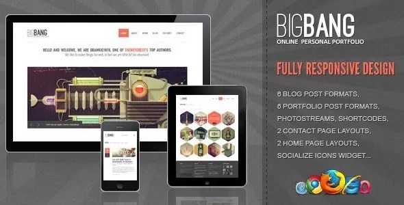 01 Banner - Bigbang - Responsive WordPress Template