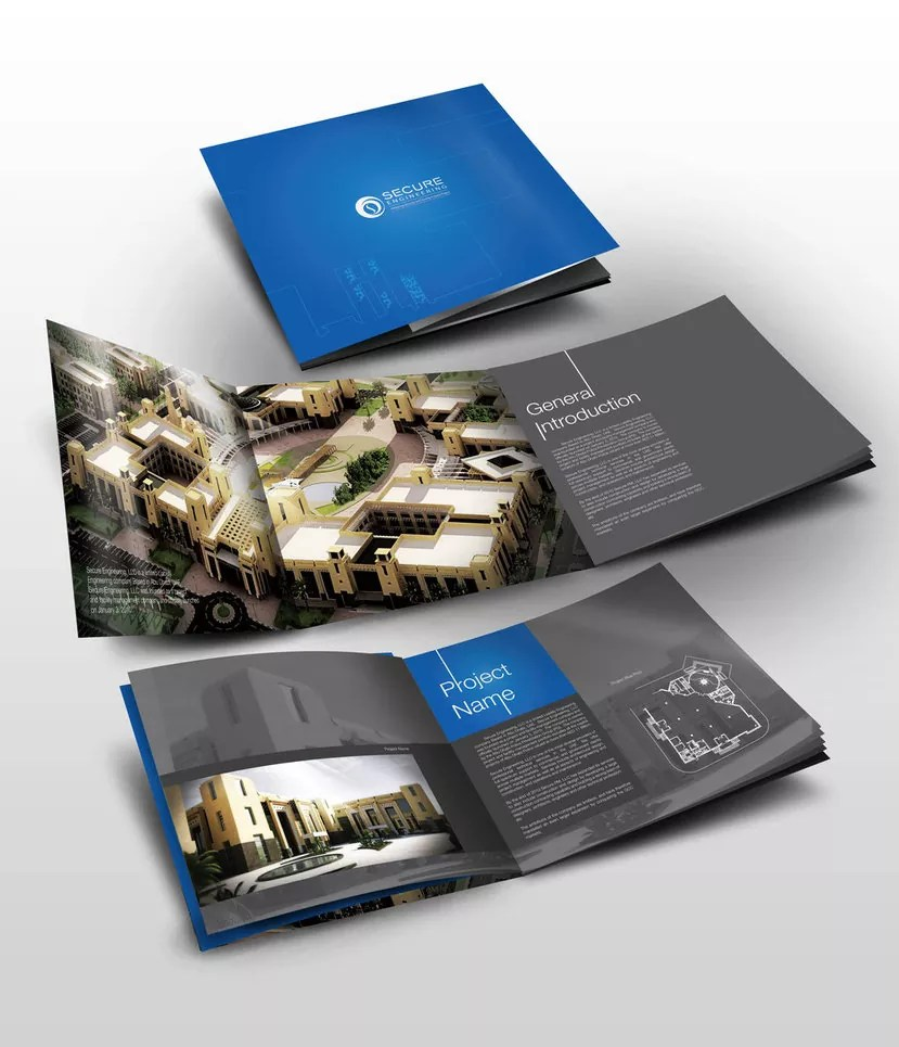 secure booklet by elkok d3h687u - Beautiful Booklet Print Design For Inspirations