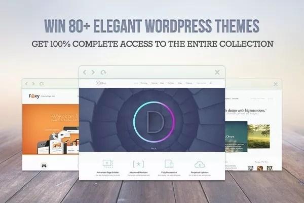 elegantthemes giveaway - Win 1 of 3 Elegant Themes Membership Accounts