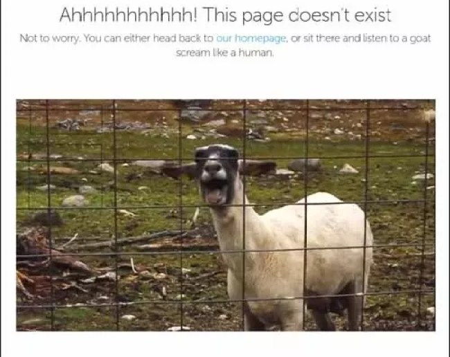 Bluegg Awesome Funny Creative Error 404 Page - 22 Creative 404 Error Page Designs