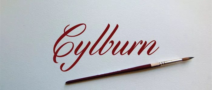 Cylburn 2 - Free Calligraphy Fonts