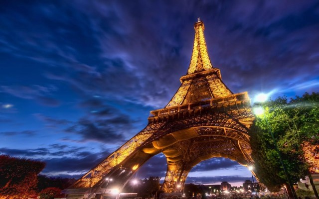 Eiffel Tower Paris HD Wallpaper 1024x640 - 20 Free HD Cities Wallpapers