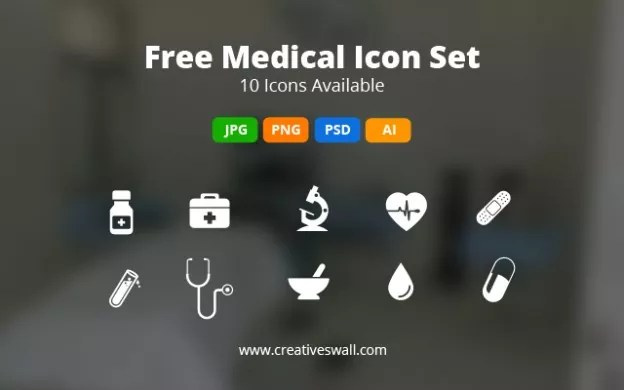 Post image 624x390 - Free Medical Icon Set