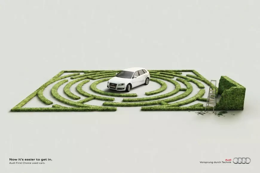 Easier to Get in o 870x579 - Creative Car Advertising Ideas